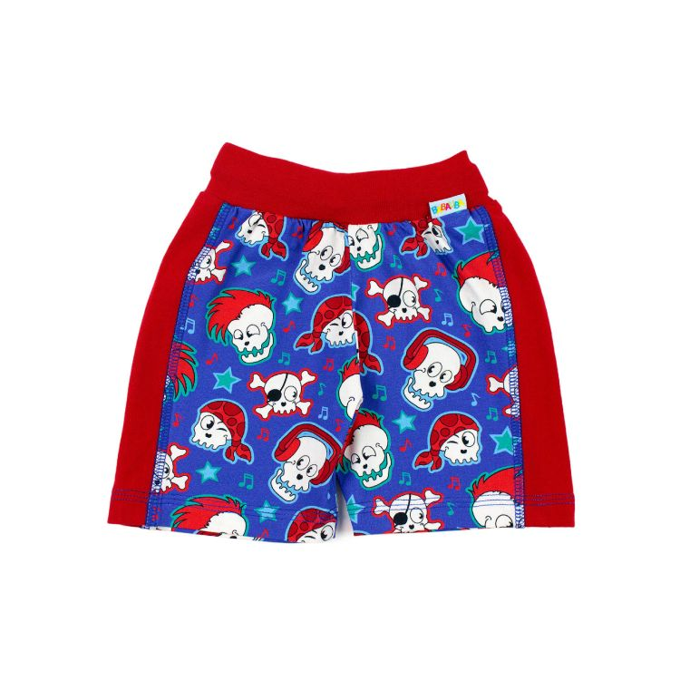 Baby-Actionshorts - SkullPunks-Red