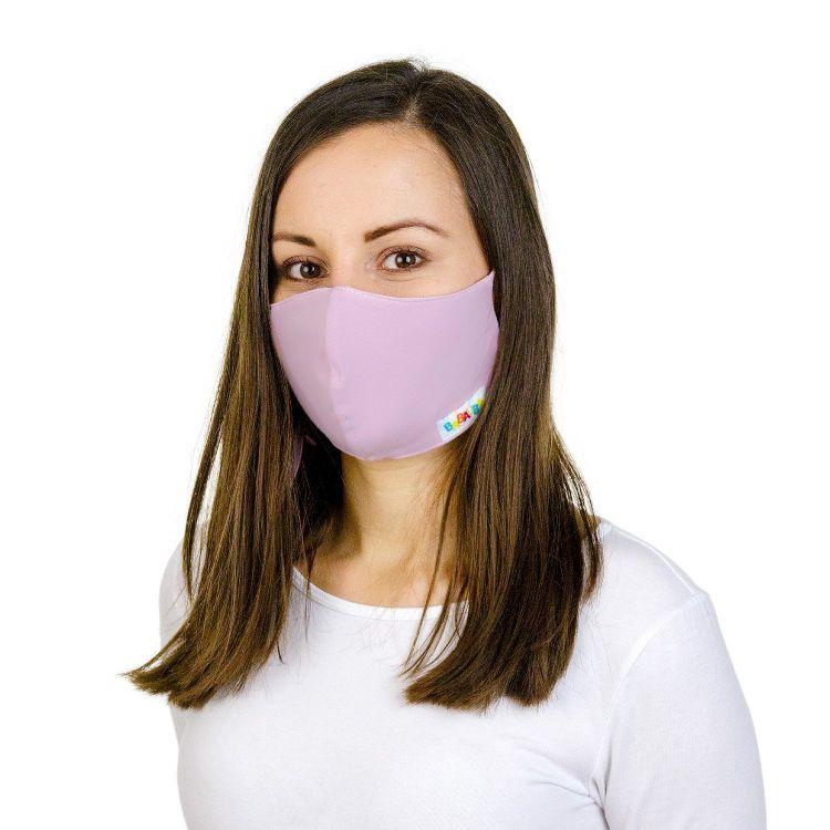 Uni-Mund- und Nasenmaske für Erwachsene mit Band Antikrosa