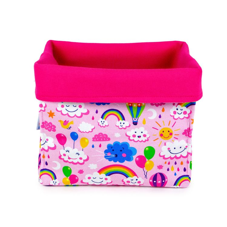Diaperbox - RainbowsAndClouds-Pink
