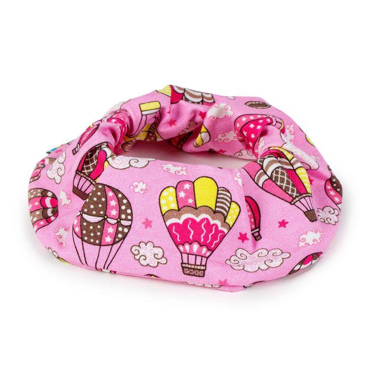 Haargummi - MontgolfiereBalloons-Pink