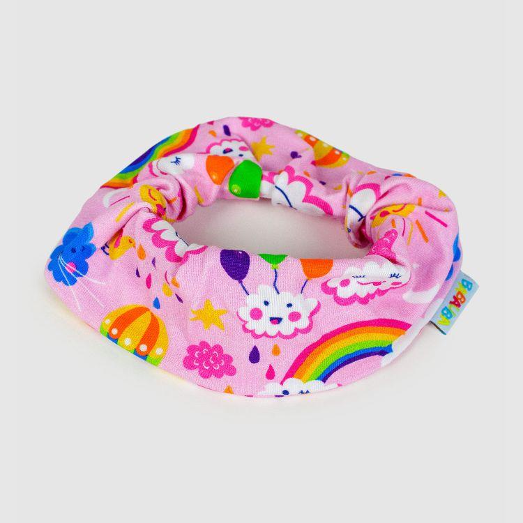 Haargummi RainbowsAndClouds-Pink