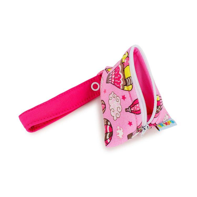 KrimsKrams-Täschchen MontgolfiereBalloons-Pink