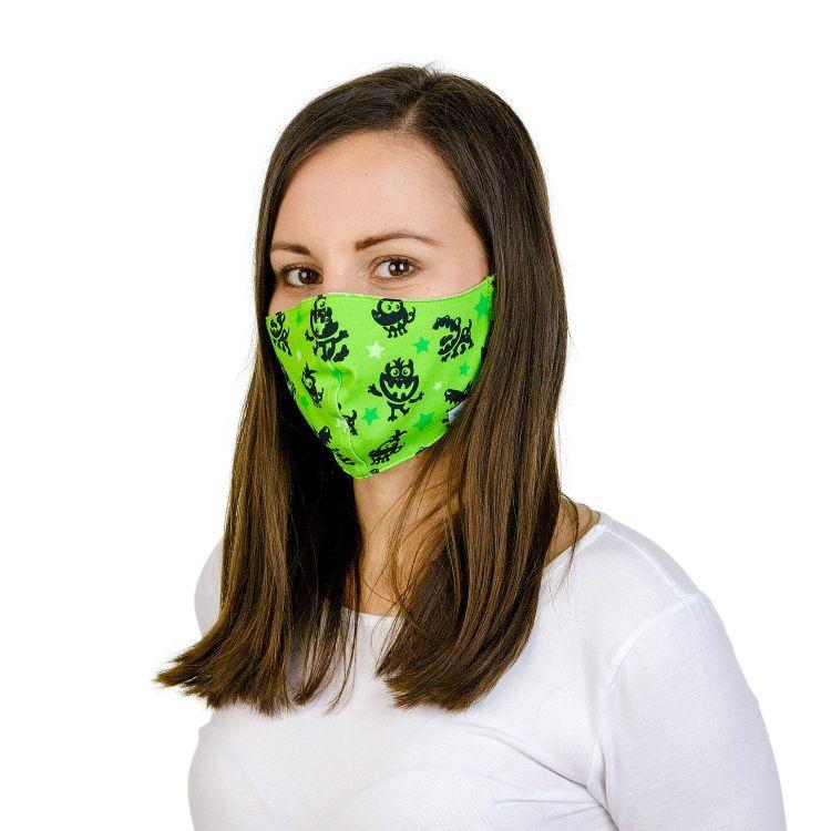 Mund- und Nasenmaske für Erwachsene mit Band - MonstersAndStars