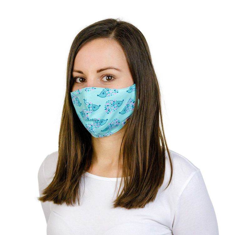 Mund- und Nasenmaske für Erwachsene mit Band - MosaicHedgehogs
