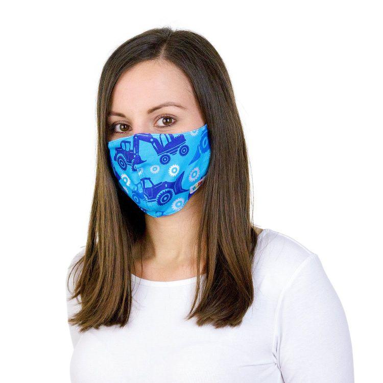 Mund- und Nasenmaske für Erwachsene mit Band - TractorsAndGears