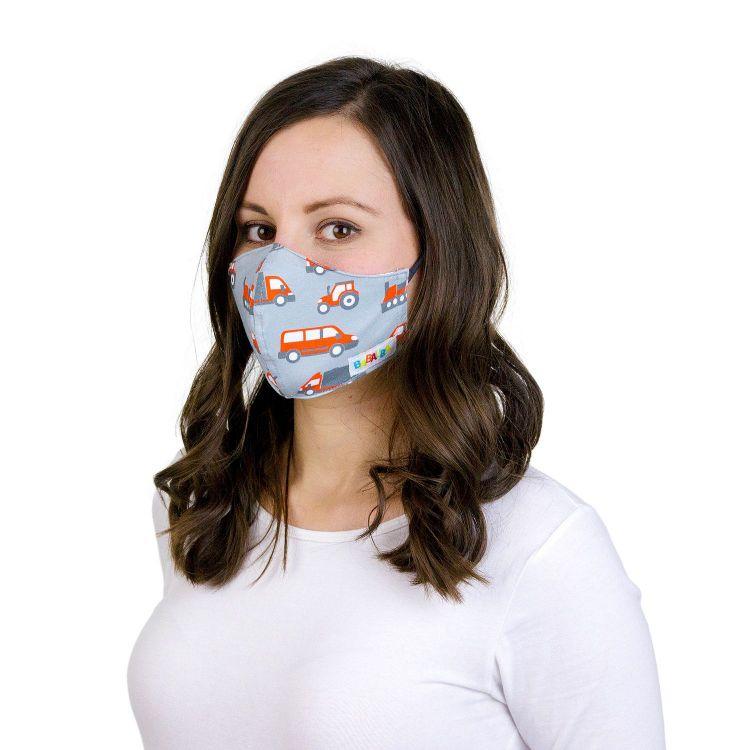 Mund- und Nasenmaske für Erwachsene mit Band - Transporter