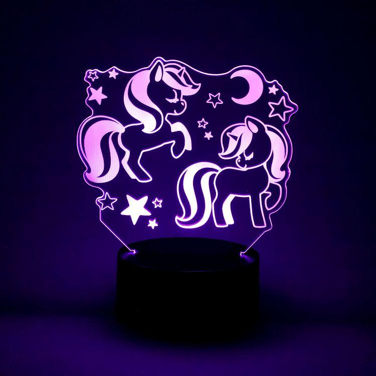 LED-Lampe GalaxyUnicorns