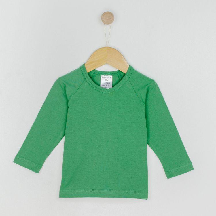 Uni-Langarm-Raglanshirt Olivgrün