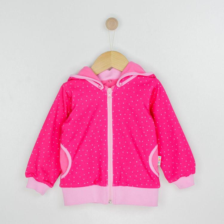 Kids-HoodieH2 - PinkDots