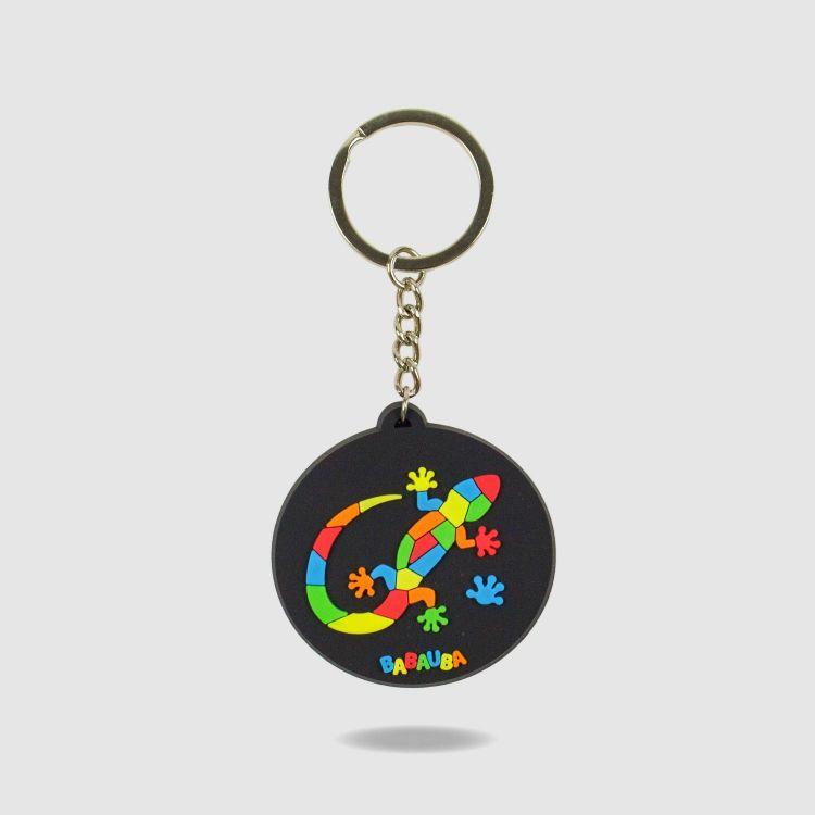 Schlüsselanhänger - DiamantSalamander-Black