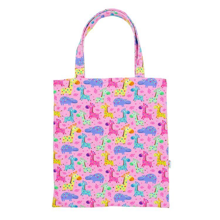 Shopper LittleSafari-Pink