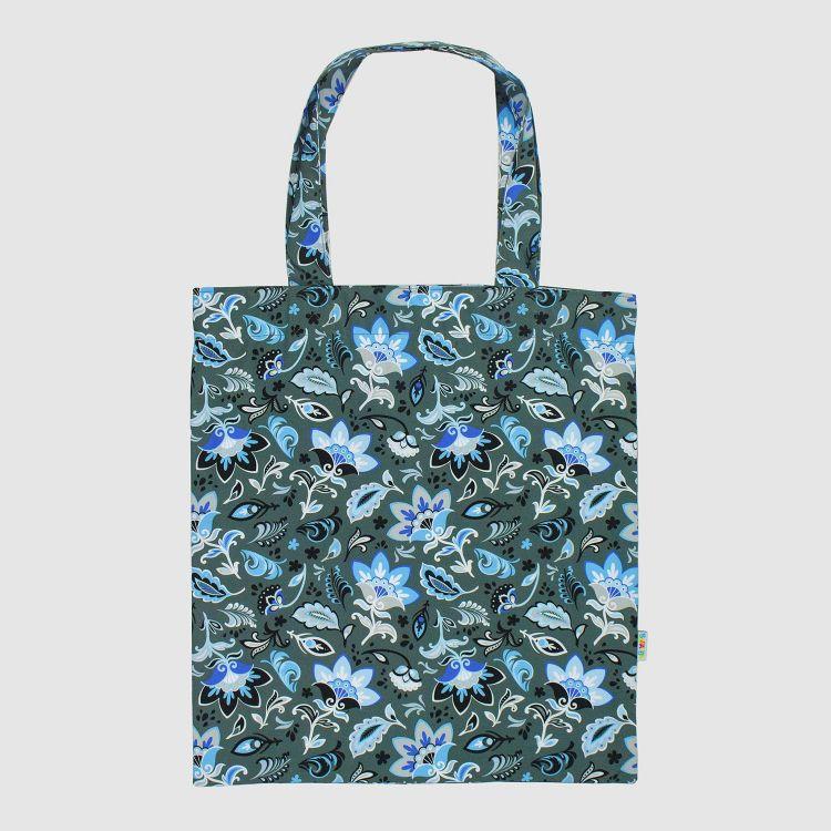 Shopper Special PaisleyFlowers-Blue