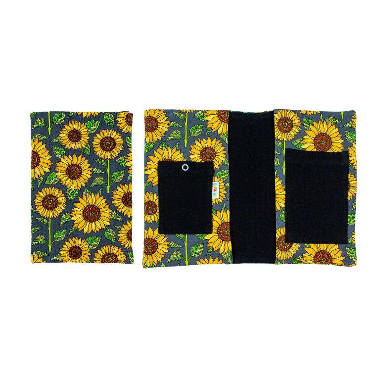 U-Heft-Hülle - Sunflowers-Green