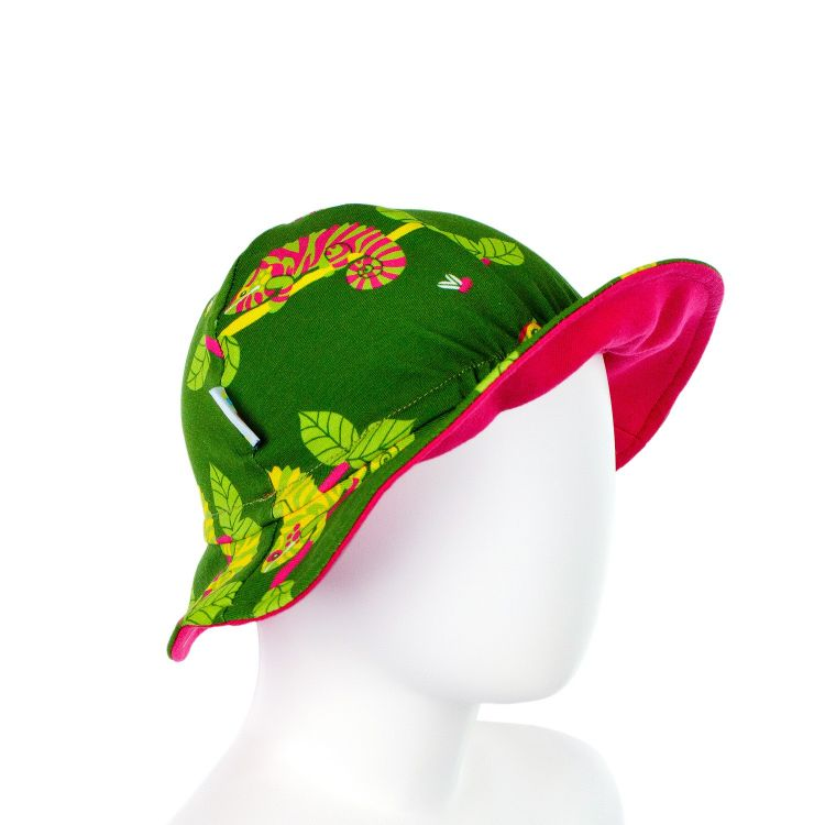 Baby-CoolHat - ChameleonsOnTwigs-Green