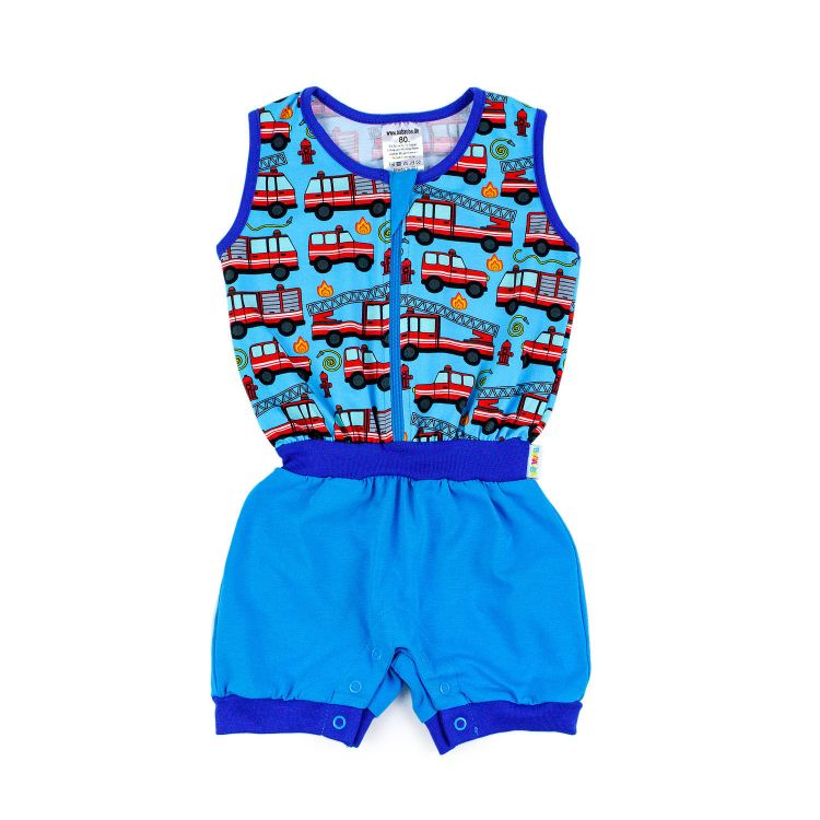 Baby-Jumpsuit - Firefighter-BlueEdition