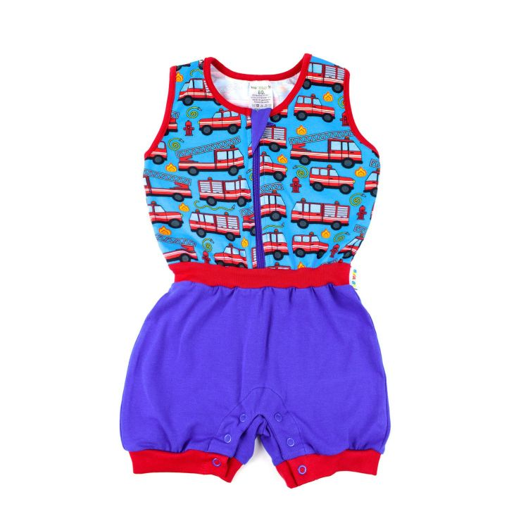 Baby-Jumpsuit - Firefighter-RedEdition