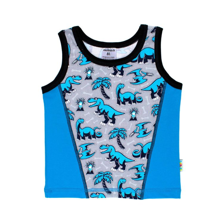 Junior-Tanktop Dinos-Bluegrey