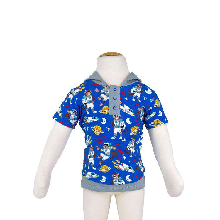 Kurzarm-LittleHeroShirt AstroMonkey