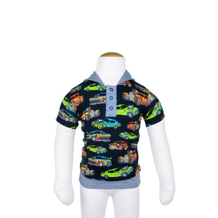 Kurzarm-LittleHeroShirt HotRods