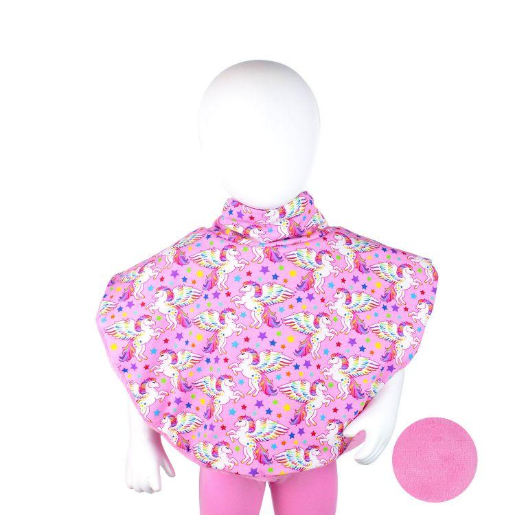 Poncho ColorfulPegasus-Pink