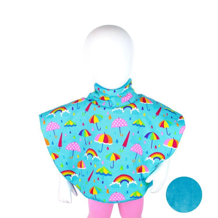Poncho ColorfulUmbrellas