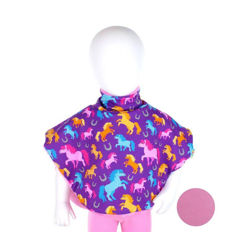 Poncho PreciousHorses-Purple