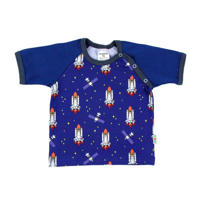 Baby-Raglanshirt-Freshstyle - Spaceshuttles