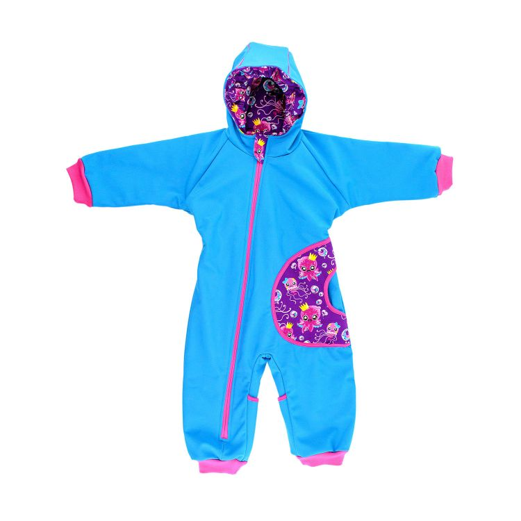 Softshell-Overall SweetOctopus-Purple