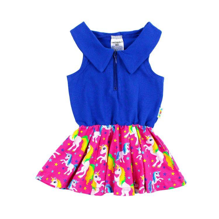 SwingDress WonderfulUnicorns-Pink