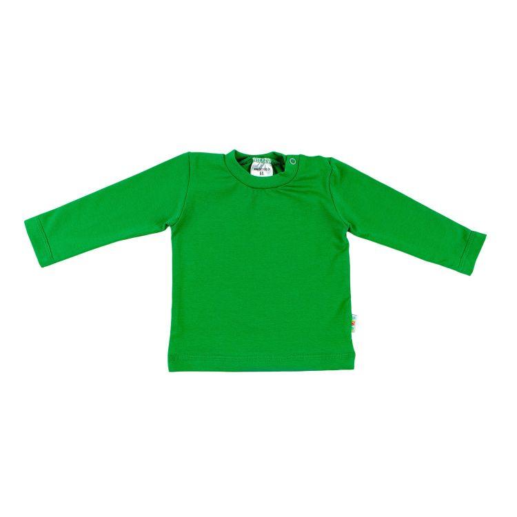 Uni-Langarmshirt Waldgrün