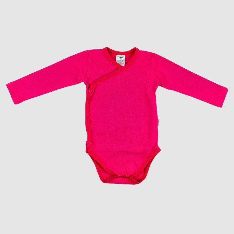 Baby-Uni-Wickelbody - Cyklame
