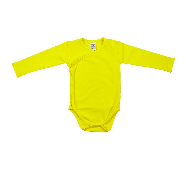Baby-Uni-Wickelbody - Zitrone