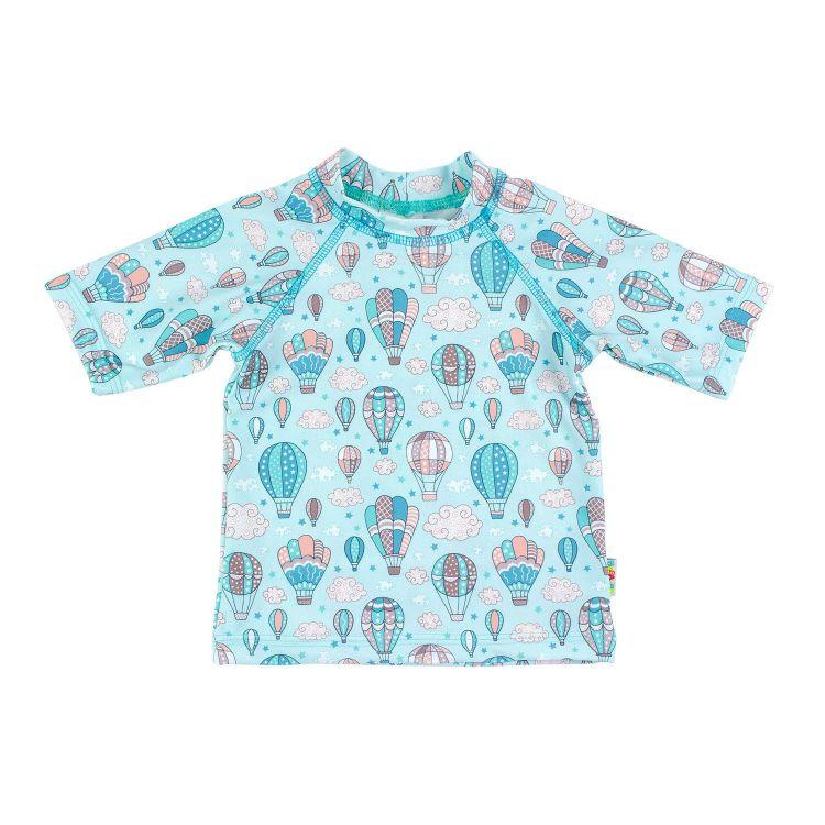 UV-Shirt MontgolfiereBalloons-Mint
