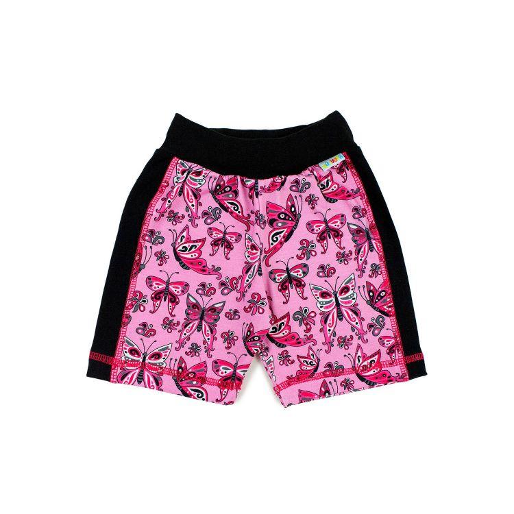 ActionShorts PrettyButterflies-PinkAndBlack