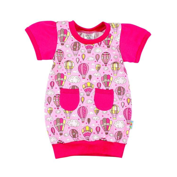 Kids-Ballonkleidchen - MontgolfiereBalloons-Pink