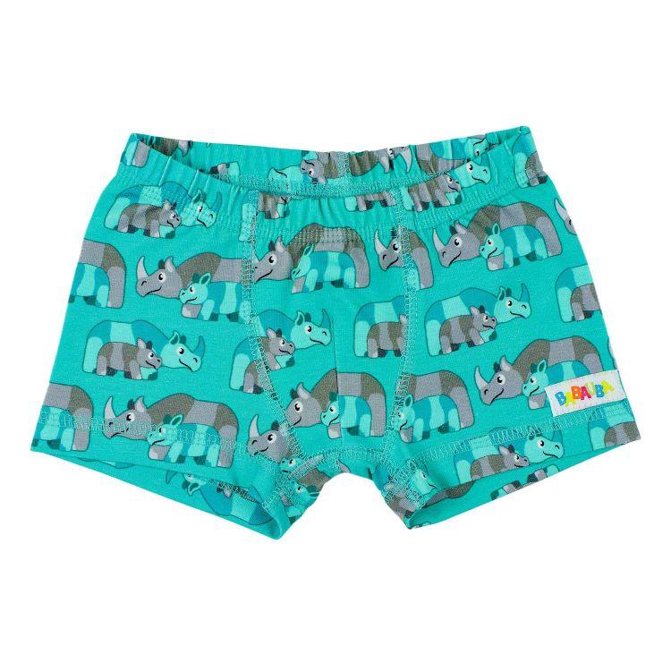 Boxershorts RhinoFamily-Mint