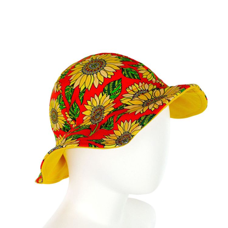 CoolHat Sunflowers-Red