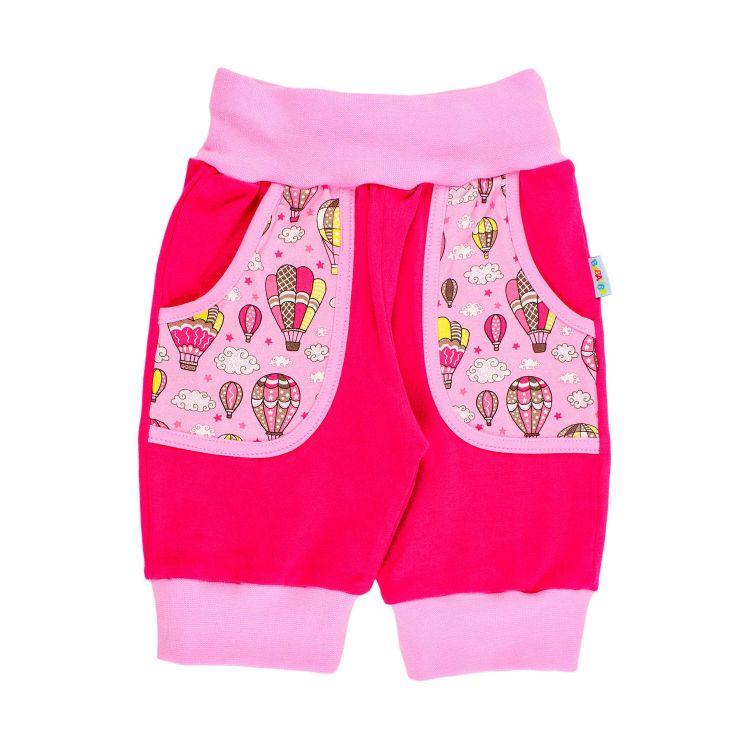 CoolPocket-Caprihose MontgolfiereBalloons-Pink