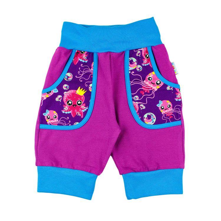 CoolPocket-Caprihose SweetOctopus-Purple