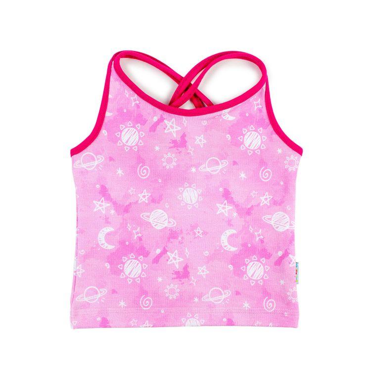 Cross-Top DreamyGalaxy-Pink