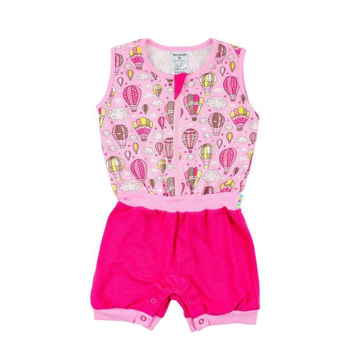 Jumpsuit MontgolfiereBalloons-Pink