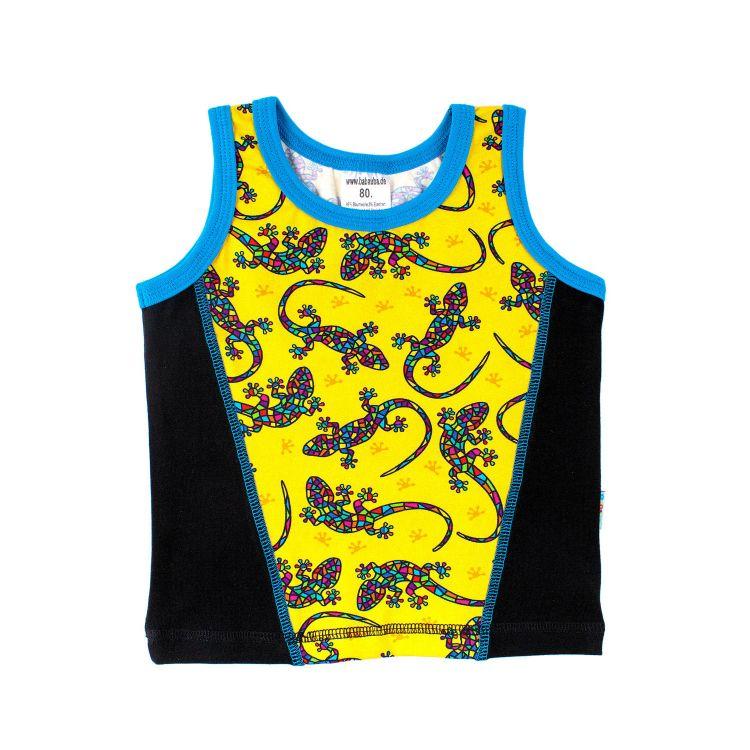 Junior-Tanktop DiamantSalamander-Yellow