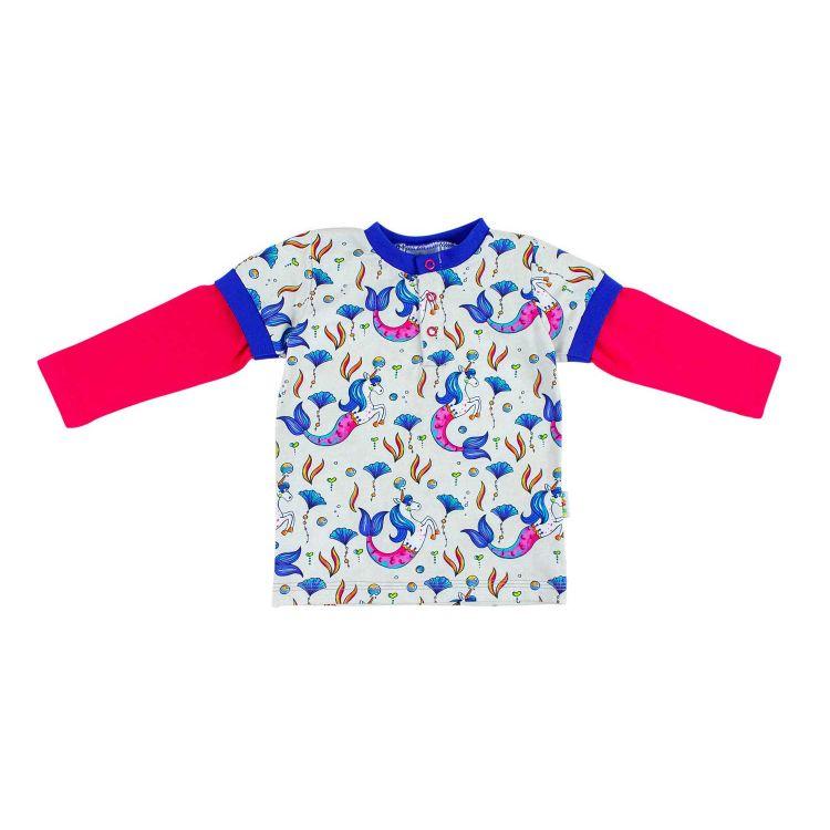 Kids-Langarm-T-Shirt - UnderwaterUnicorn