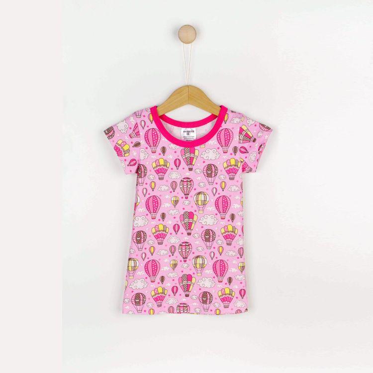 Nachthemd MontgolfiereBalloons-Pink