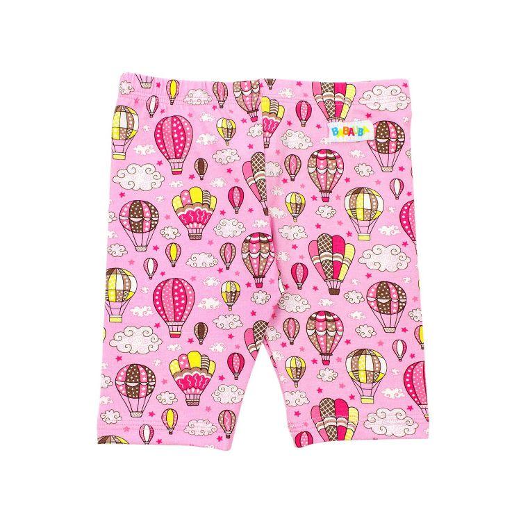 Radlerhose MontgolfiereBalloons-Pink
