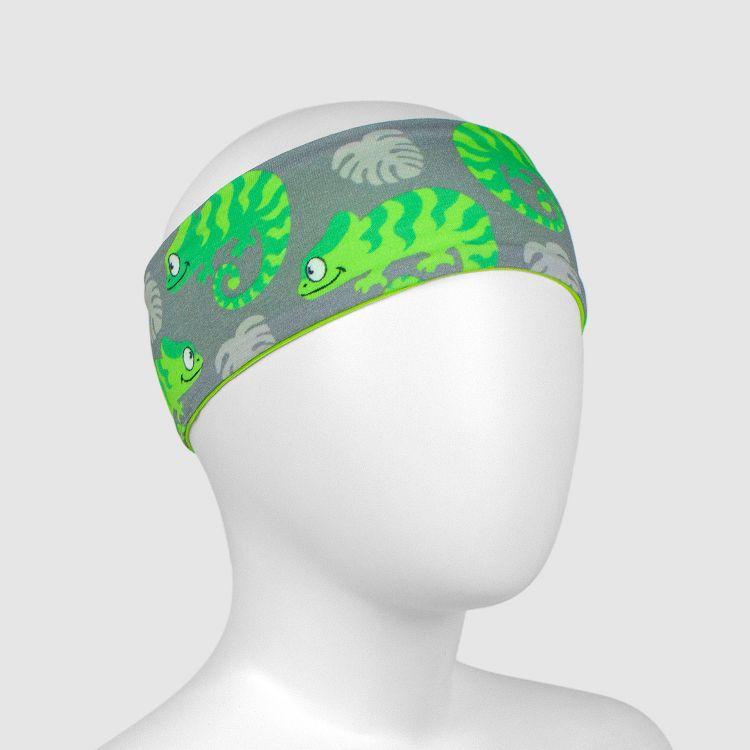 Stirnband ExoticChameleons-Green