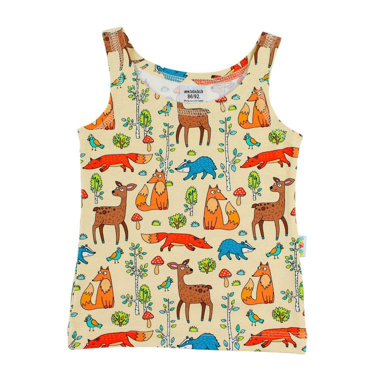 Kids-Undershirt - HappyForestAnimals