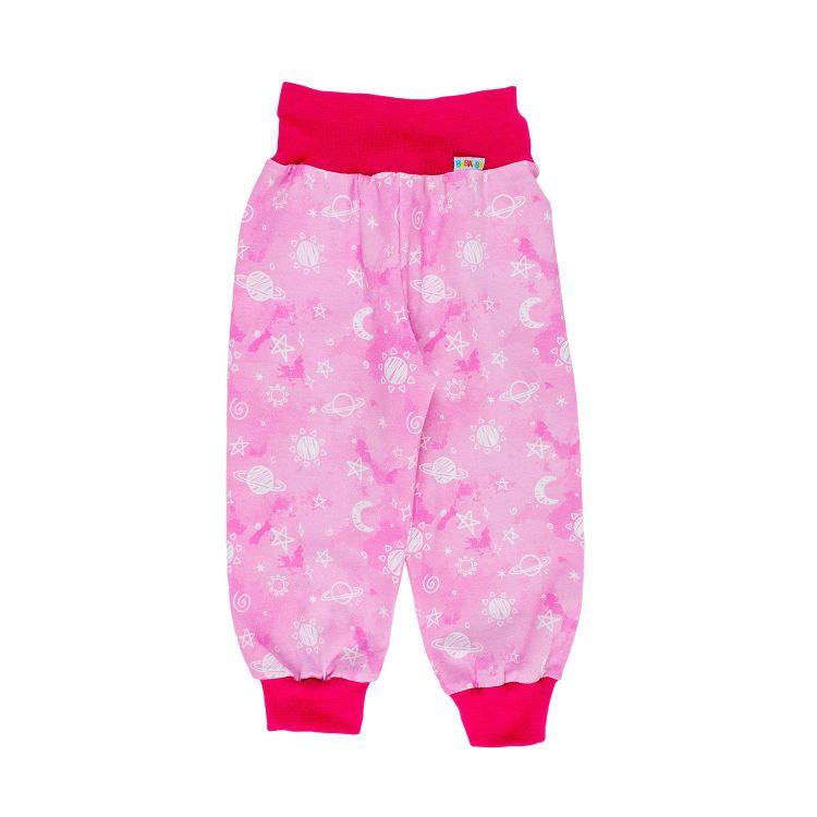 Kids-Widepants - DreamyGalaxy-Pink