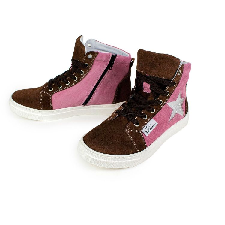 BabaubaSneakers Marrone-Altrosa
