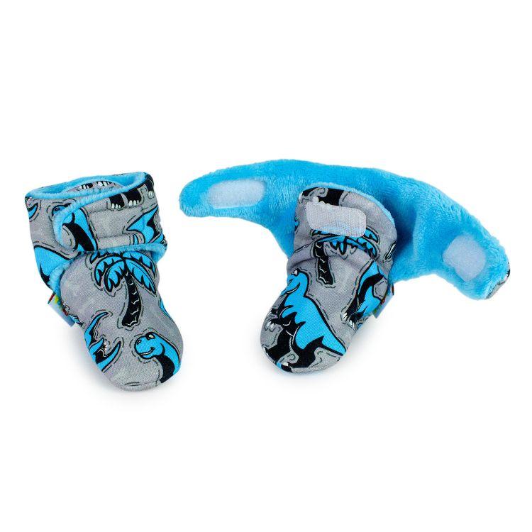 Booties Dinos-Bluegrey